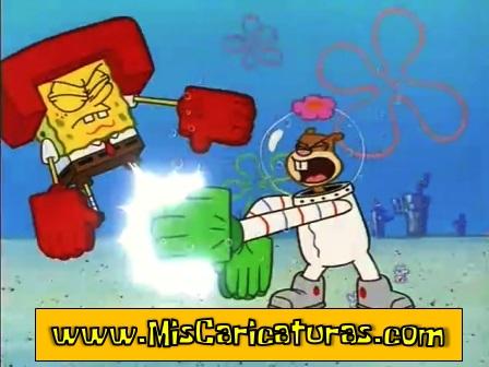 bob esponja karatecas