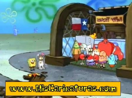 bob esponja texas