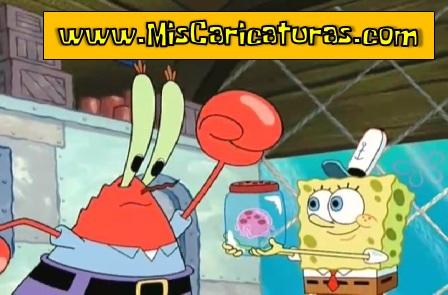 bob esponja cazador de medusas