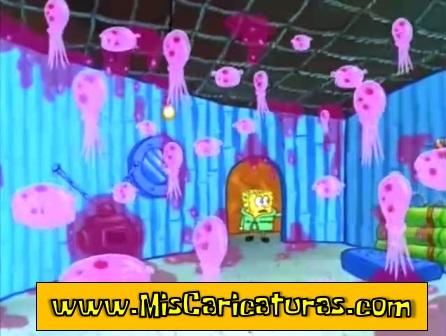 bob esponja jalea de medusas