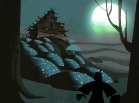 samurai jack casa embrujada